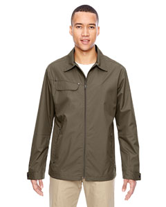 Dk Oakmoss 487 Men's Excursion Ambassador Lightweight Jacket with Fold Down Collar