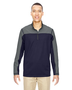 Navy 007 Men's Excursion Circuit Performance Half-Zip