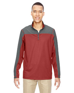 Rust 489 Men's Excursion Circuit Performance Half-Zip