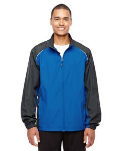 Tr Roy/ Crbn 438 Men's Stratus Colorblock Lightweight Jacket