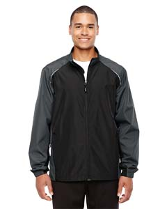 Blck/ Carbon 703 Men's Stratus Colorblock Lightweight Jacket
