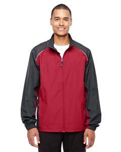 Cl Red/ Crbn 850 Men's Stratus Colorblock Lightweight Jacket