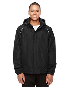 Black 703 Men's Tall All Seasons Fleece-Lined Jacket