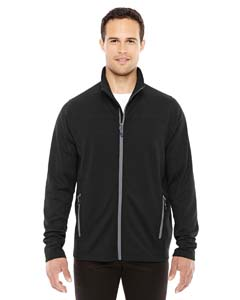 Blck/ Grphte 703 Men's Torrent Interactive Textured Performance Fleece Jacket