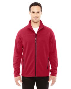 Cls Red/blck 850 Men's Torrent Interactive Textured Performance Fleece Jacket