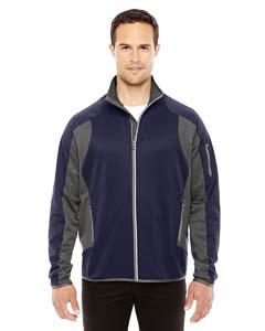 Navy/ Dk Grp 007 Men's Motion Interactive ColorBlock Performance Fleece Jacket