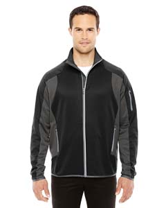 Blck/ Dk Grp 703 Men's Motion Interactive ColorBlock Performance Fleece Jacket