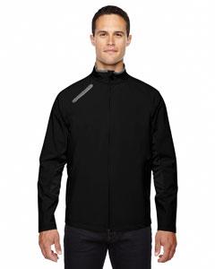 Black 703 Men's Three-Layer Light Bonded Soft Shell Jacket