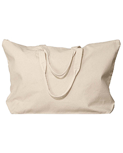 Natural Amanda Canvas Tote