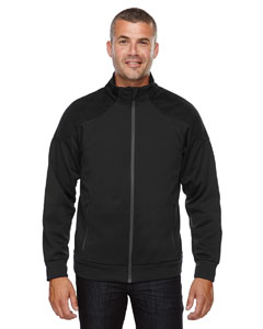 Black 703 Men's Evoke Bonded Fleece Jacket