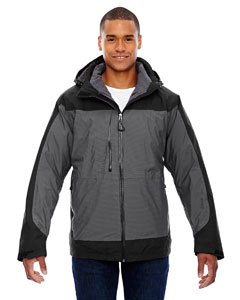 Black 703 Men's Alta 3-in-1 Seam-Sealed Jacket with Insulated Liner