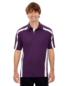 Mulbry Purpl 449 Men's Accelerate UTK cool.logik™ Performance Polo