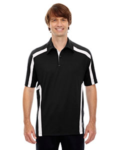 Black 703 Men's Accelerate UTK cool.logik™ Performance Polo