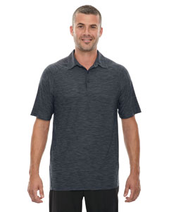 Carbon 456 Men's Barcode Performance Stretch Polo