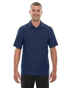 Night 846 Men's Barcode Performance Stretch Polo