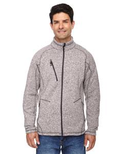 Lt Heather 832 Men's Peak Sweater Fleece Jacket