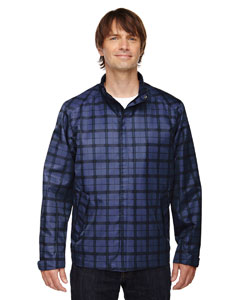 Night 846 Men's Locale Lightweight City Plaid Jacket