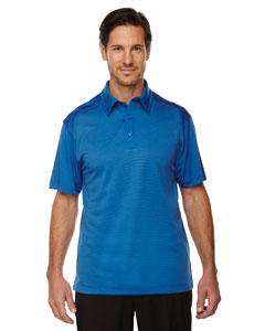 Nauticl Blue 413 Men's Symmetry UTK cool.logik™ Coffee Performance Polo