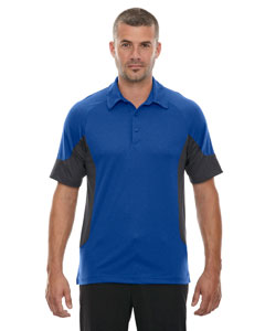 Nauticl Blue 413 Men's Refresh UTK cool.logik™ Coffee Performance Mélange Jersey Polo
