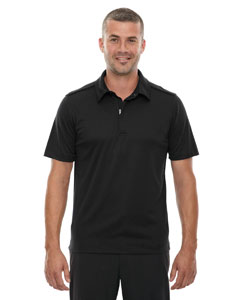 Black 703 Men's Evap Quick Dry Performance Polo