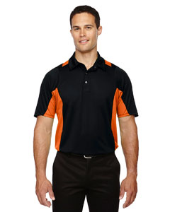 Black/ Mndrn 454 Men's Rotate UTK cool.logik™ Quick Dry Performance Polo
