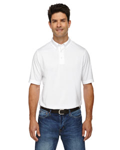 White 701 Men's Weekend Cotton Blend UTK cool.logik™ Performance Polo