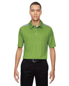 Green Flash 474 Men's Reflex UTK cool.logik™ Performance Embossed Print Polo