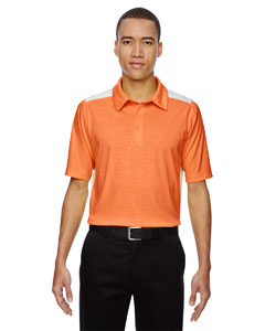 Orange Soda 476 Men's Reflex UTK cool.logik™ Performance Embossed Print Polo