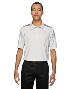 Crystl Qrtz 695 Men's Reflex UTK cool.logik™ Performance Embossed Print Polo