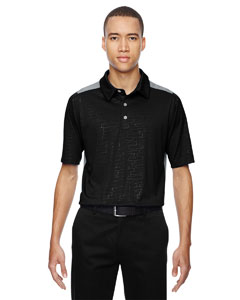 Black 703 Men's Reflex UTK cool.logik™ Performance Embossed Print Polo
