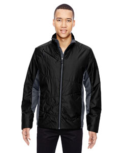 Black 703 Men's Immerge Insulated Hybrid Jacket with Heat Reflect Technology