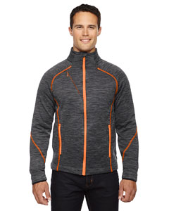 Crbn/or Soda 482 Men's Flux Mélange Bonded Fleece Jacket