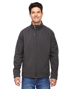 Carbn Heath 452 Men's Skyscape Three-Layer Textured Two-Tone Soft Shell Jacket