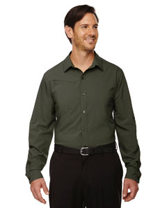 Oakmoss 462 Men's Rejuvenate Performance Shirt with Roll-Up Sleeves