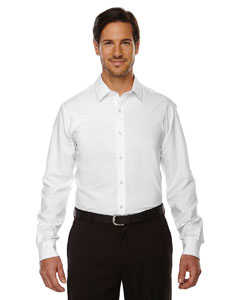 White 701 Men's Rejuvenate Performance Shirt with Roll-Up Sleeves