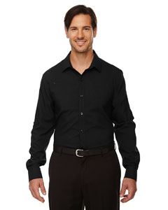 Black 703 Men's Rejuvenate Performance Shirt with Roll-Up Sleeves