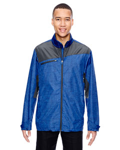 Nauticl Blu 413 Men's Interactive Sprint Printed Lightweight Jacket