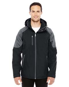 Blck/ Carbon 703 Men's Impulse Interactive Seam-Sealed Shell Jacket