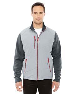 Platnm/ Crbn 837 Men's Quantum Interactive Hybrid Insulated Jacket