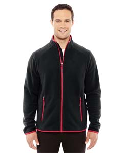 Blk/olym Red 461 Men's Vector Interactive Polartec Fleece Jacket