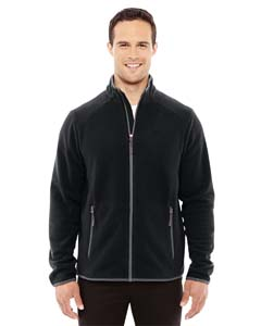 Black/carbon 703 Men's Vector Interactive Polartec Fleece Jacket