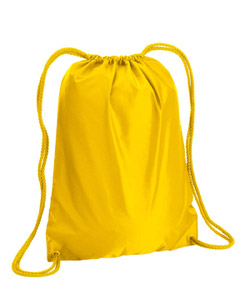 Bright Yellow Boston Drawstring Backpack