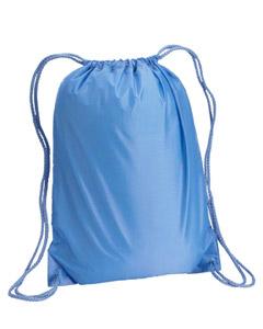 Light Blue Boston Drawstring Backpack
