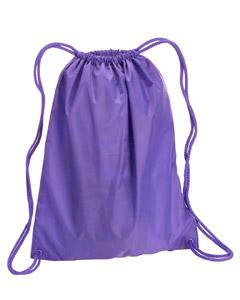 Lavender Large Drawstring Backpack