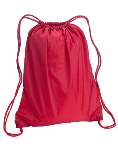 Red Large Drawstring Backpack