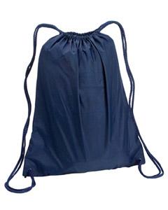 Navy Large Drawstring Backpack