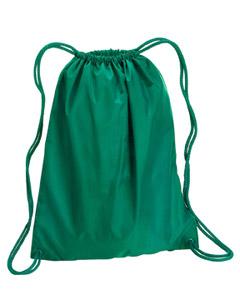 Kelly Green Large Drawstring Backpack