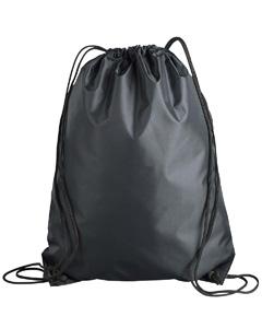 Black Value Drawstring Backpack
