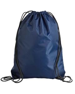 Navy Value Drawstring Backpack