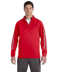 True Red/steel Tech Fleece Quarter-Zip Cadet